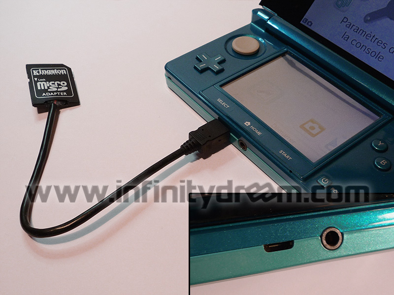 micro usb or micro sd mod on normal 3ds. Black Bedroom Furniture Sets. Home Design Ideas