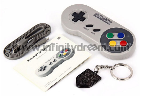 8BitDo SFC30 Gamepad Bluetooth Controller