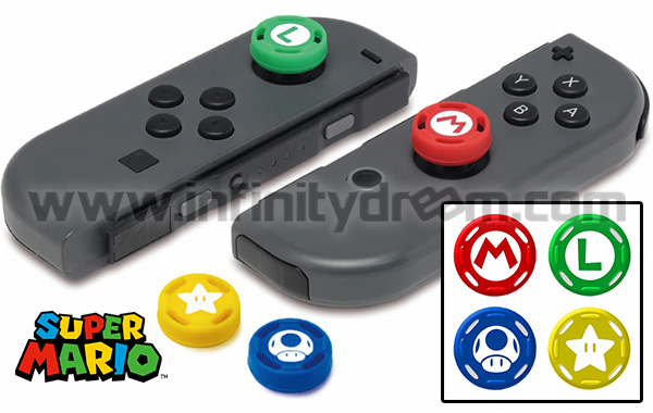 HORI Joy-Con Analog Caps (x4 pcs) N-Switch