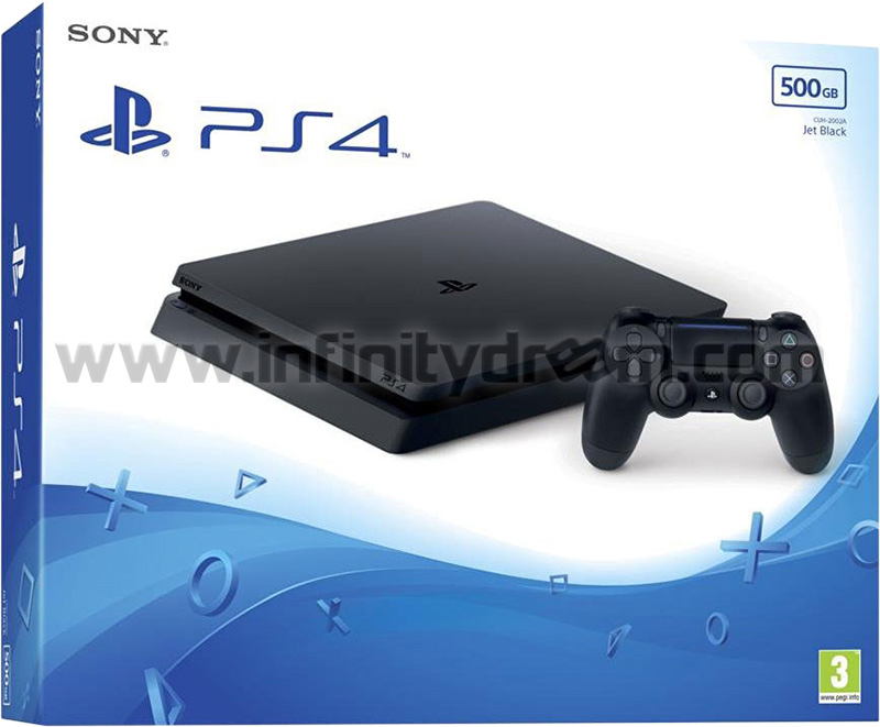 PS4 Console FW v5.05 - Jet Black