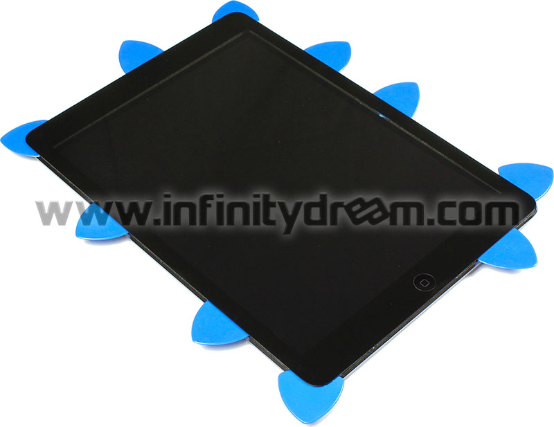 Pick Flat - 1.3 mm (x3 pcs) - Disassembly Galaxy Tab + iPad