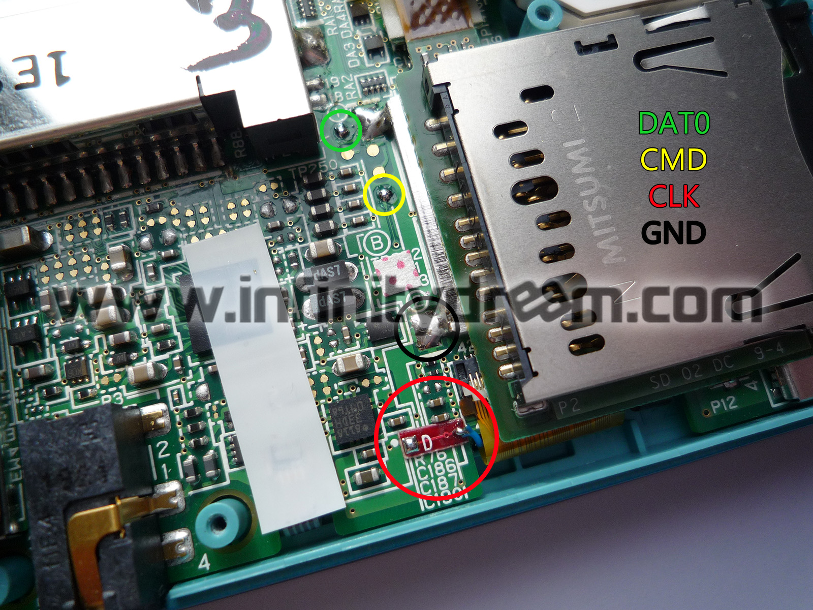 3ds_micro_usb_solder_points micro usb (or micro sd) mod on normal 3ds? gbatemp net the Nintendo 3DS XL Mods at mifinder.co